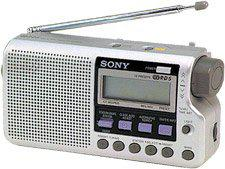 poste radio portable sony