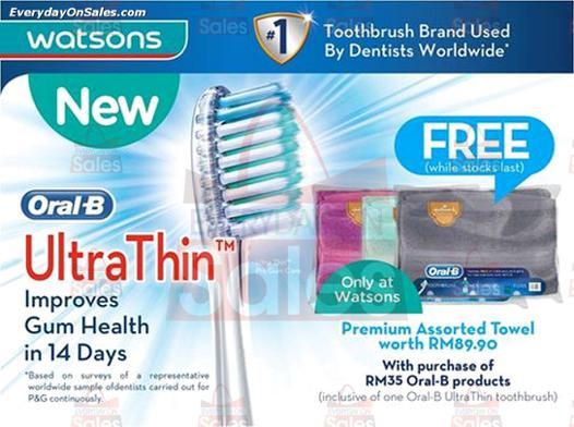 promotion oral b