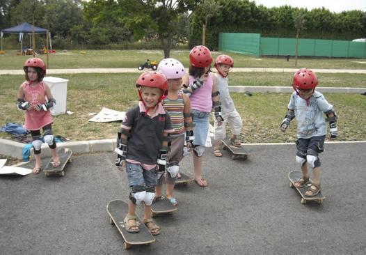 protection skate enfant