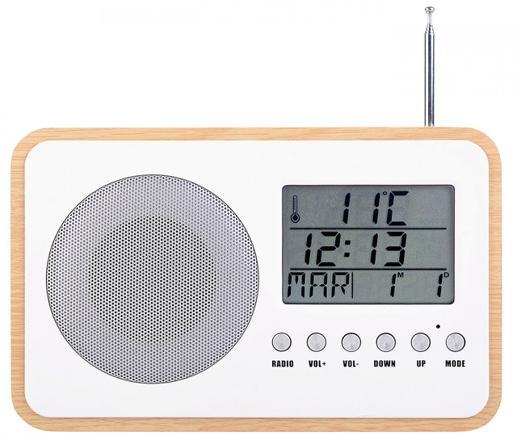 radio reveil pile