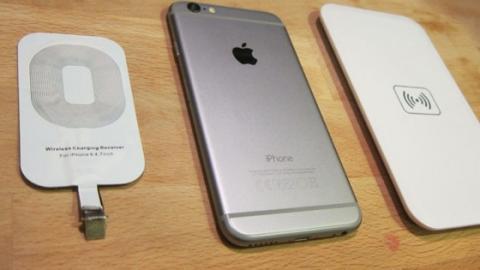 recharge sans fil iphone 6