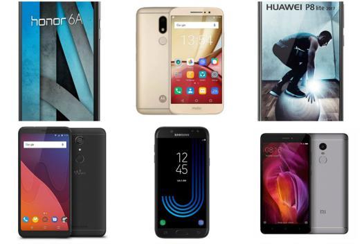 smartphone a moins de 200 euros