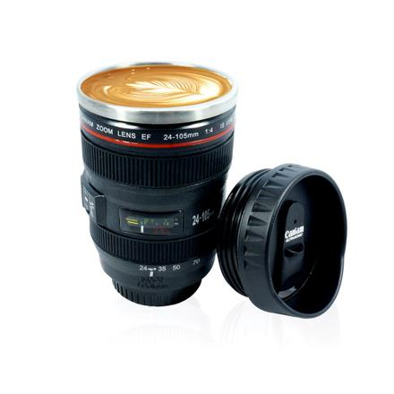 tasse café objectif photo