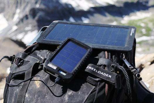 test chargeur solaire