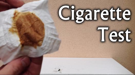 test de cigarette
