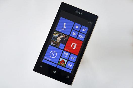 test lumia 520