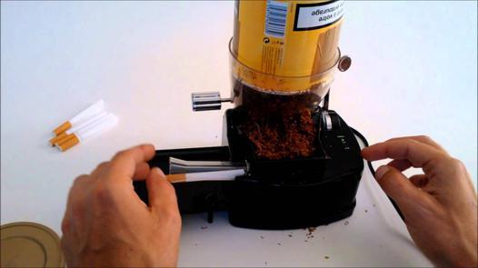 tubeuse cigarette electrique automatique