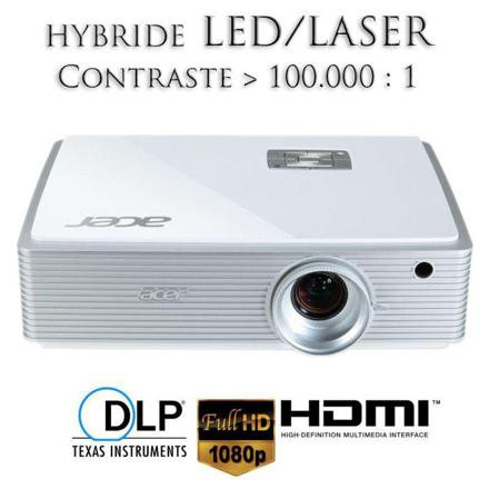 videoprojecteur led laser