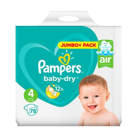 4 pampers