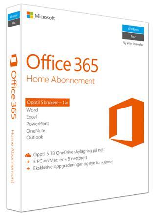 abonnement microsoft office