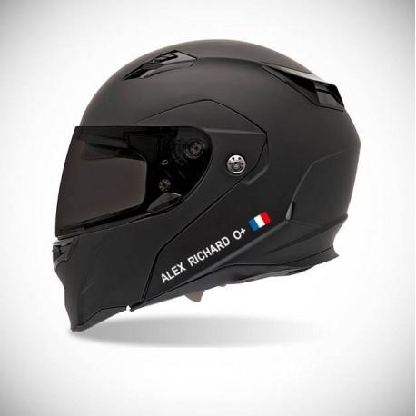adhesif casque moto