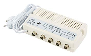 amplificateur antenne tv 4 sorties
