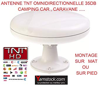antenne camping car omnidirectionnelle
