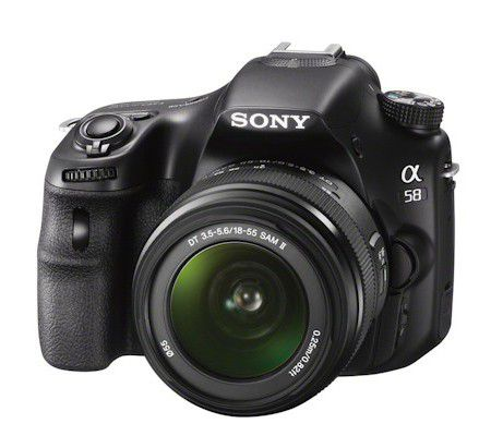 appareil photo sony a58