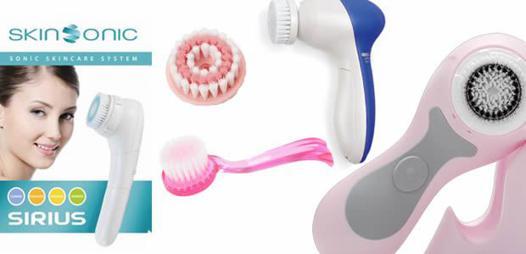 appareil pour nettoyer la peau du visage