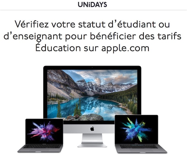 apple store etudiant
