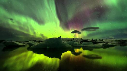 aurores boreales hd
