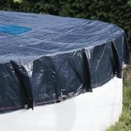 bache piscine hors sol ronde 6 m