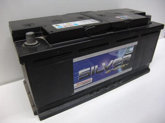 batterie silver