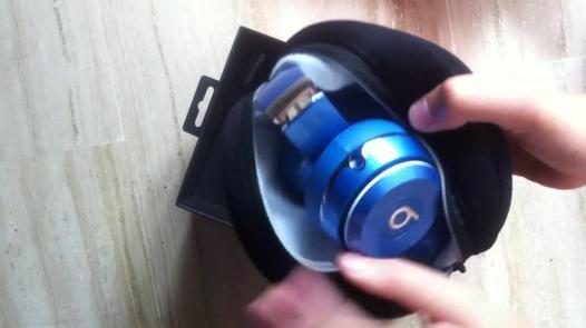 beats solo 2 bleu