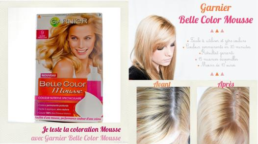 belle color mousse