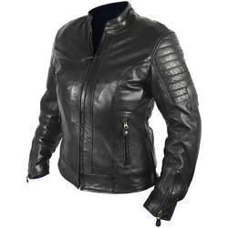 blouson moto cuir femme