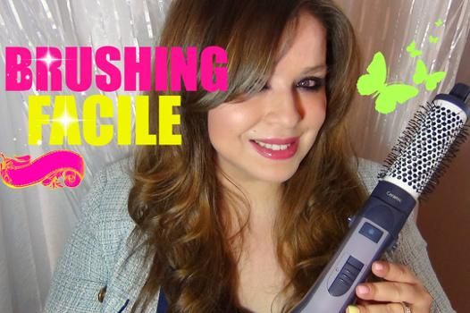 brushing avec brosse soufflante