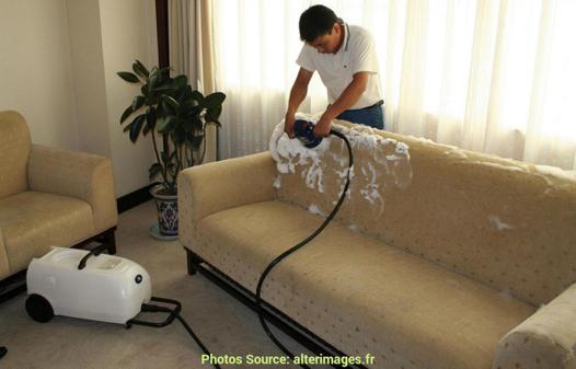 canapé tissu anti tache