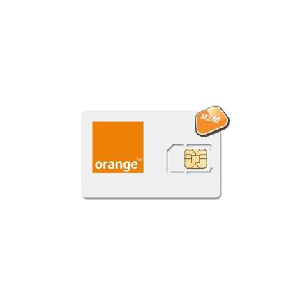 carte sim alarme orange