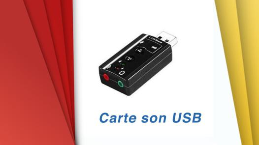 carte son pc test