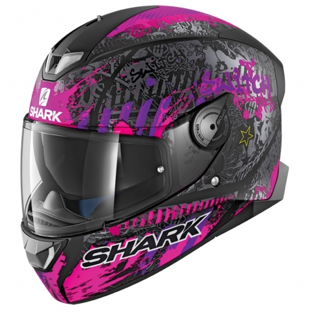 casque shark rose