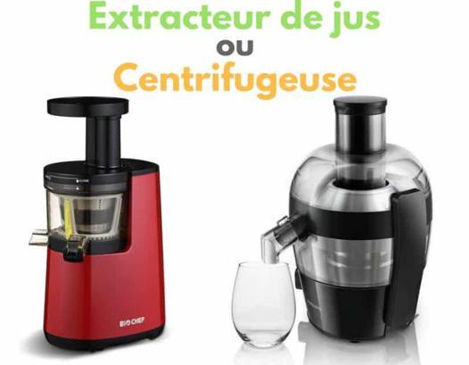 centrifugeuse choisir