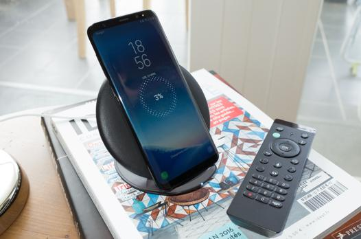 chargeur a induction samsung s8