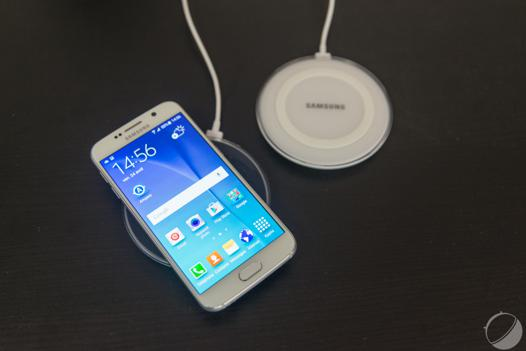 chargeur induction samsung s6