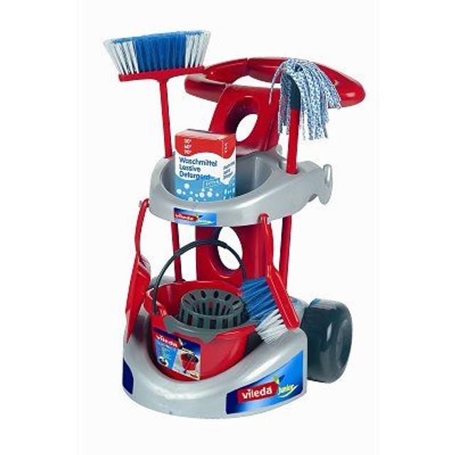 chariot de ménage jouet