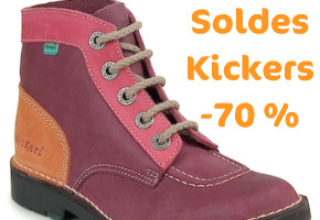 chaussures femme kickers soldes