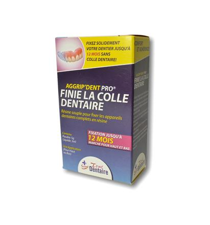colle dentaire pour prothese