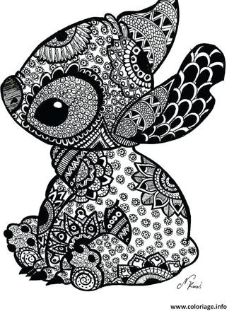 coloriage mandala animaux