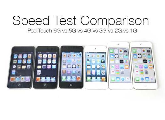 comparatif ipod