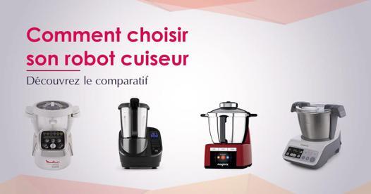 comparatif robot cuiseur
