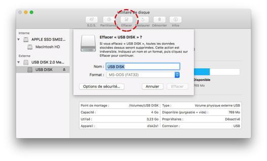 compatibilité disque dur externe mac pc