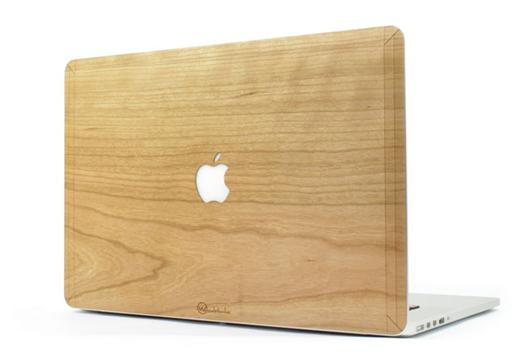coque macbook air bois