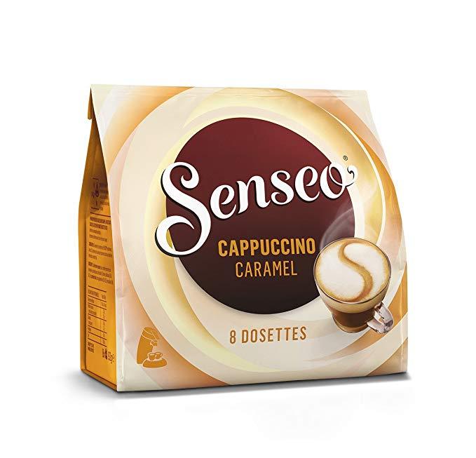 dosette senseo cappuccino caramel
