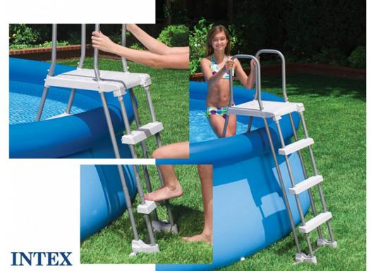 echelle intex piscine hors sol