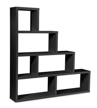 etagere escalier noir