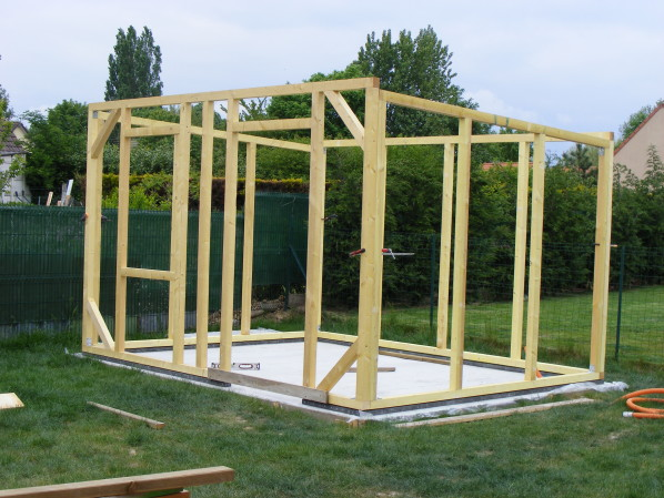 faire une cabane de jardin