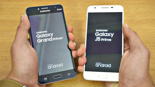 galaxy grand plus test