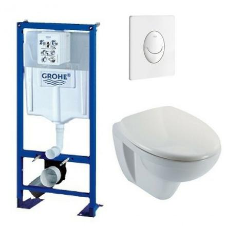 grohe bati support wc suspendu