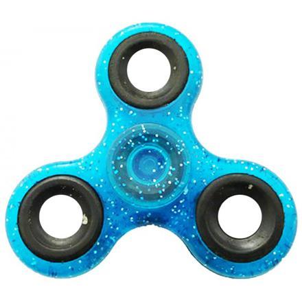 hand spinner bleu metal