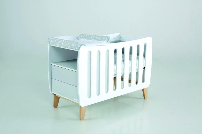lit bebe avec table a langer integre